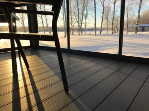 Kerttu Niskanen chose Lunawood Thermowood Plastic Composite