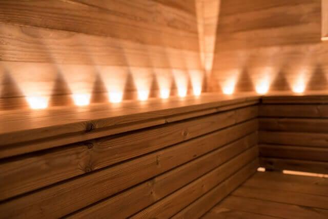 Lunawood Thermowood sauna