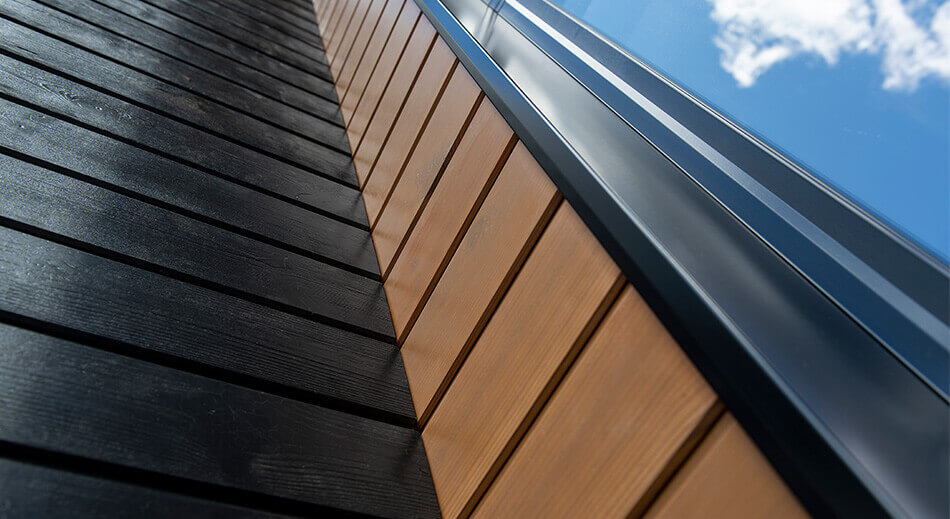 LUNA PRO COATED – New installation-ready surface-treated facade