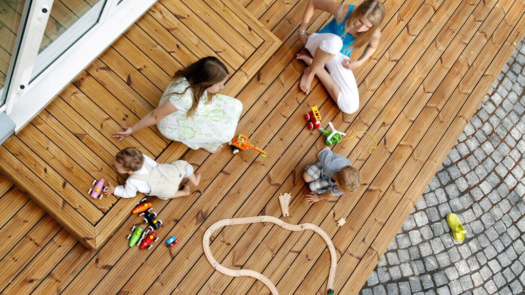 guide to maintenance and care thermowood decking