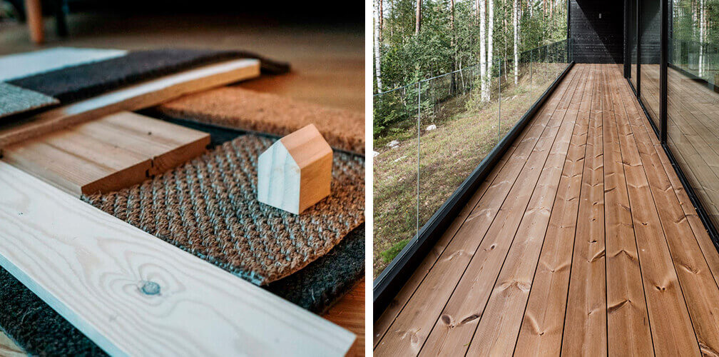 project o materials thermowood lunawood