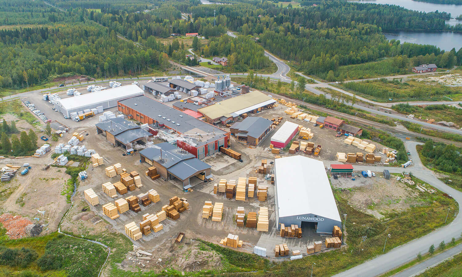 Lunawood Iisalmi production plant